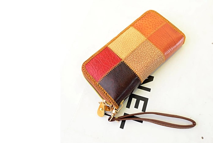 real leather wallet, travel goods